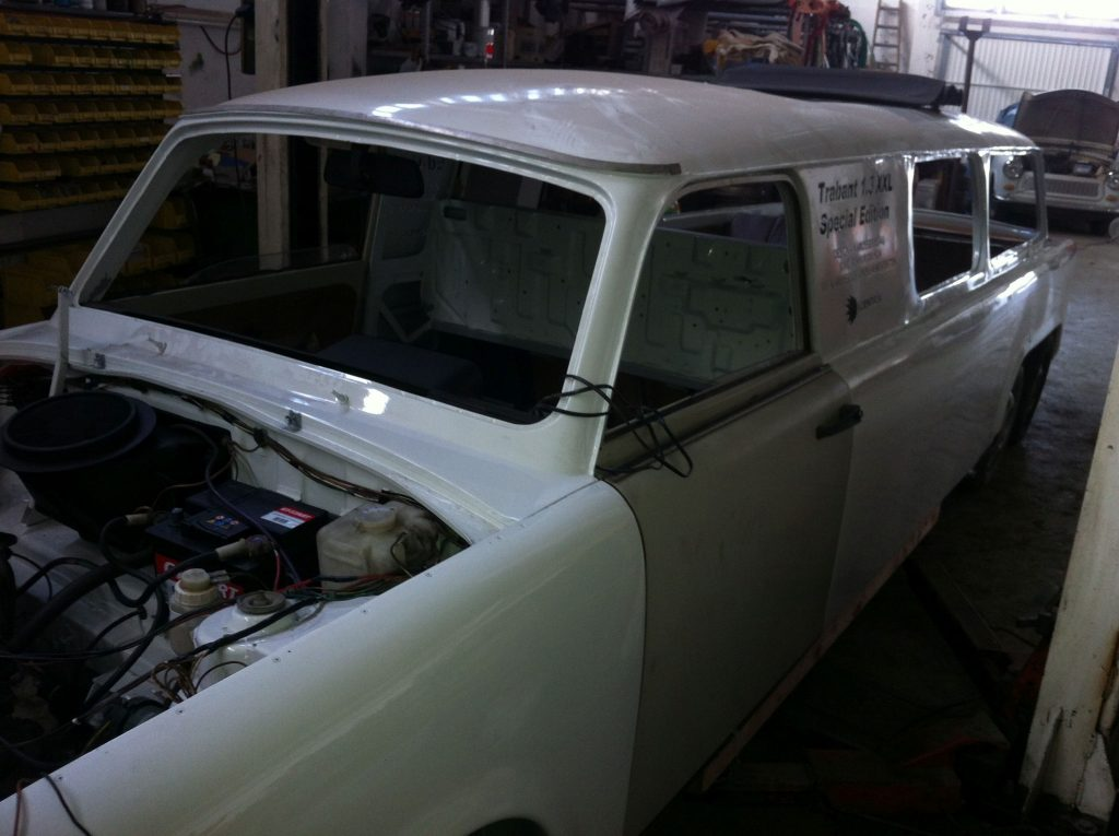 Lackierung Trabant XXL Special Edition