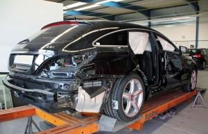 Karosserievermessung vor Reparatur