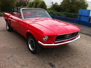 Oldtimer Restaurierung - Ford Mustang